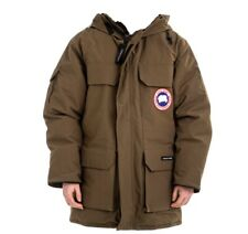 Canada Goose MENS EXPEDITION PARKA 4660M SIZE S Military Green Olive New $1095