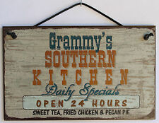 Grammy  s Sign Southern Kitchen Grandma Fried Country South Barbecue Cook ing