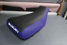 Suzuki King Quad LTF300 1987-98 Blue Sides Logo Seat Cover #nw2892mik2891