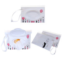 1PC Clean wipes carrying case wet wipes bag cosmetic wipe easy-carry pouch bag