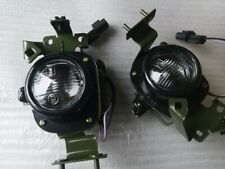 Pair Left Right Front Drive Fog Light Lamp Mitsubishi Montero Pajero 98 99 00