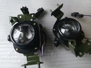 Pair Left Right Front Drive Fog Light Lamp Mitsubishi Montero Pajero 98 99 00