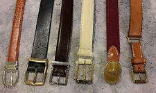 Designer belt lot 6 ralph lauren leather silver gold brass beautiful vintage
