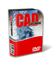 3D CAD Computer Aided Design Full Auto Software Package for PC & Mac OSX