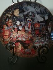 A Pepsi-Cola Halloween plateBy Bill Bell-Collectible Plate 1995