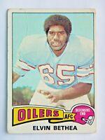 Elvin Bethea #385 Topps 1975 Football Card (Houston Oilers) G