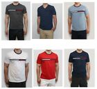 New Tommy Hilfiger Men Classic Fit Crew Neck Logo Tee Shirt T-Shirt NWT