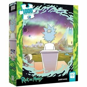 """Rick and Morty """"Shy Pooper"""" 1000 Piece Puzzle"""