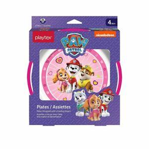 Playtex Nickelodeon Paw Patrol Plates, Pink, 2 Count