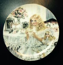 """Vintage """"VICTORIA""""Limited Edition C1989 Artist Corinne Layton~Knowles with COA"""