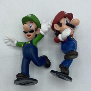 Mario and Luigi Nintendo 2007 Action Figures Toy Set