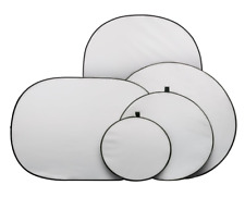 Metz DS 92-122 80cm Foldable Disc Reflector Set (White, Gold & Silver)