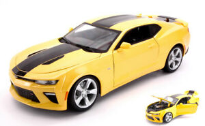 Model Car Scale 1:18 Chevrolet Camaro Ss diecast vehicles collection