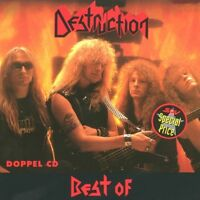 DESTRUCTION 'BEST OF' 2 CD 27 Tracks THRASH METAL NEU