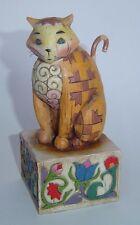 """JIM SHORE HEARTWOOD CREEK """"JASPER"""" THE CAT 2003"""