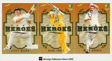2008-09 Select Cricket Trading Cards Past Heroes Subset Card Full Set (20)