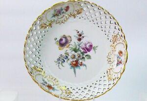 Antique Meissen AUGUSTUS REX dish .XVIII/XIX Century