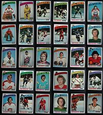 1976-77 Topps Hockey Cards Complete Your Set You U Pick From List 1-132