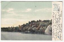 [60860] 1908 POSTCARD DAN RIVER & HOUSE ROCK COUNTRY CLUB IN DANVILLE, VIRGINIA