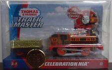 Trackmaster Thomas ~ Celebration Nia ~ 75th Anniversary Metallic Engine