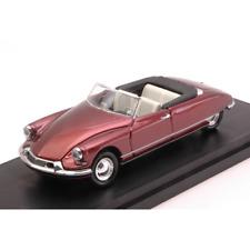 CITROEN DS 19 CABRIO 1962 BORDEAUX 1:43 Rio Auto Stradali Die Cast Modellino