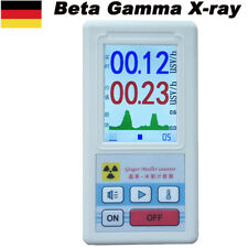 Geigerzähler Beta-Gamma-Röntgen-GM-Röhren-Dosimeter-Detektor-Tester DE