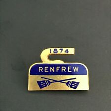 New listing VINTAGE CURLING PIN RENFREW 1874 (Birks written on back)