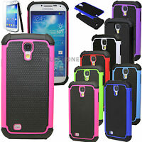 Hybrid Shockproof Dirt Proof Hard Matte Case Cover for Samsung Galaxy S4 i9500