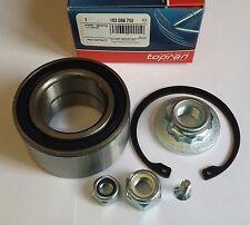 SEAT/VW FRONT WHEEL BEARING/NUTS/CIRCLIP/BOLT KIT FOR 1H0498625/103056 - TOPRAN