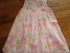 GYMBOREE SIZE 2 2T YEARS FLORAL DRESS MINT EUC SUMMER GARDEN BLOOM EASTER SPECIA