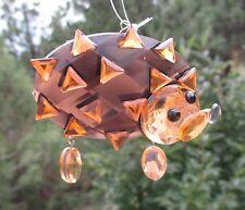 dd Hedgehog CRYSTAL EXPRESSIONS ORNAMENT Ganz sun catcher WOODLAND ANIMAL