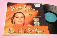 YMA SUMAC LP LEGEND OF SUN VIRGIN ORIG US '50 TOP RARE !!!!!!!!!!!!!