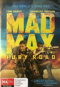 Mad Max - Fury Road DVD ADVENTURE - Charlize Theron, REGION 4 AUSTRALIA