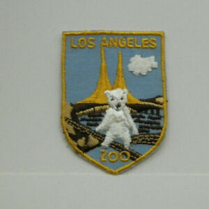 Los Angeles Zoo Vintage Patch Free Shipping