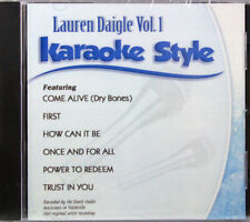 Lauren Daigle Volume 1 Karaoke Style NEW CD+G Daywind 6 Songs