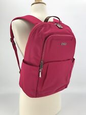 Tumi Voyageur Courtney Laptop Computer Backpack Hot Pink Magenta School Bookbag