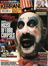 Kerrang Music Magazine no976 October 2003 ROD ZOMBIE HOUSE OF 1000 CORPSES