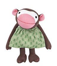 Franck & Fischer Monkey Affe Frida grünes Kleid  30 cm neu