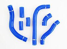 HONDA CRF450 CRF450R 09-12 SILICONE RADIATOR HOSE KIT BLUE MOTOCROSS HOSES