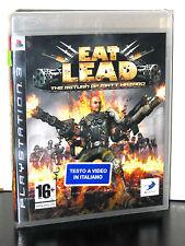 EAT LEAD THE RETURN OF MATT HAZARD GIOCO NUOVO SONY PS3 EDIZIONE ITALIANA PG694