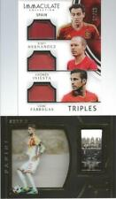 Andres Iniesta Xavi Cesc Fabregas Sergio Ramos Game Used Jersey Spain World Cup