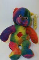 Creative Comforts Rainbow Collection Stuffed Plush Bear Toy Doll
