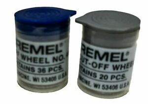 Dremel Cut-Off Wheels NO 420 & NO 409 One pack each