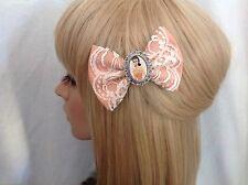 Barbie hair bow clip rockabilly pin up girl ken doll chic cute retro vintage