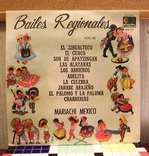 Mariachi Mexico- Bailes Regionales Vol. III LP VG+ ACP 123 Vinyl  Record (C)1972