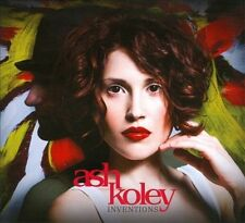 Inventions by Ash Koley (CD,DIGIPAK 2010, Nettwerk) BRAND NEW SEALED!