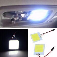 Light COB LED 48 SMD Panel Lights Dome Lamp Bulb Car Interior Reading Lights