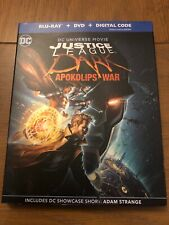 Justice League Dark Apokolips War Blu-Ray w/ slipcover No Digital. Superman