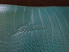 turquoise straw stone mountain handbag
