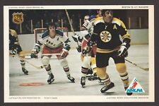 1971-72 NHLPA PRO STAR PROMOTIONS HOCKEY  PHOTO ESPOSITO-GILBERT-RATELLE  A3252